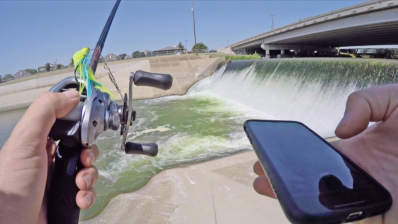 finding-new-bass-fishing-ponds-with-iphone-app