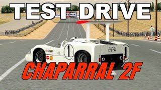 Chaparral 2F - Test Drive - Grand Prix Legends