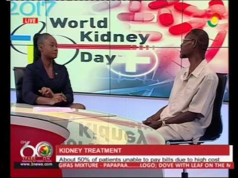 About 50% of kidney patients unable to pay bills - 9/3/2017