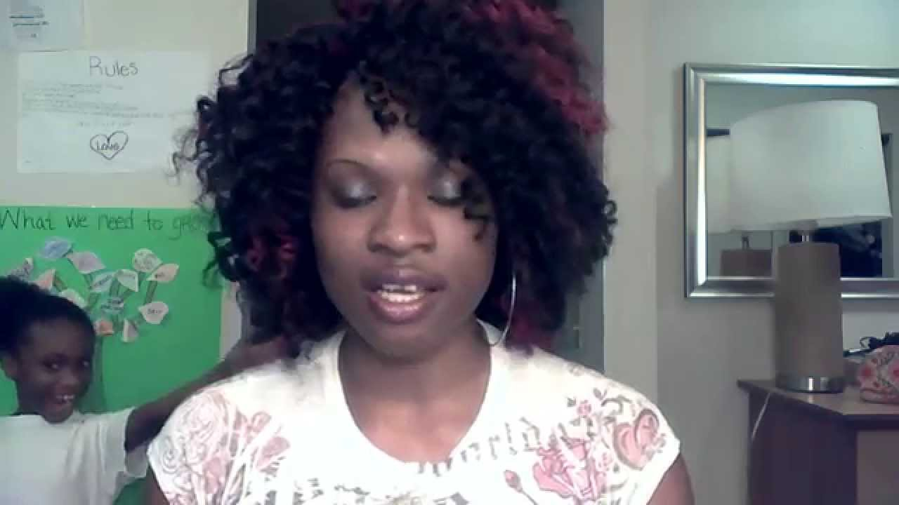 Protective Style Crochet Braids With Equal Jamaican Twist