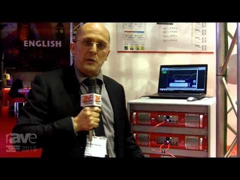 ISE 2015: Proel Shows Off the Axiom QC Series Amplifier