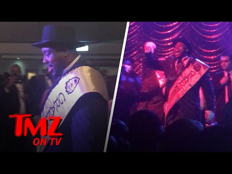 NFL Star Nick Fairly Crashes The Stage During A Jagged Edge Concert | TMZ TV