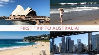 MY FIRST TRIP TO AUSTRALIA! Sydney, Brisbane & More ✈️   Australia Travel Vlog Part 1