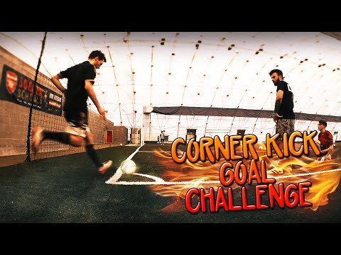 CORNER KICK GOAL CHALLENGE!