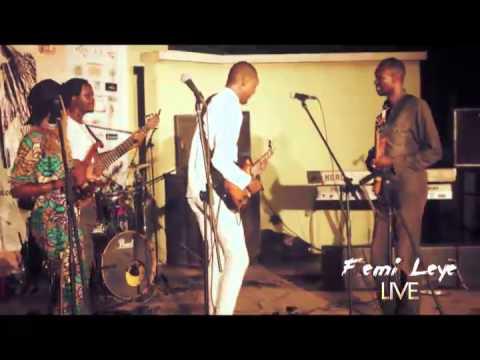 Femi Leye- Live at The Lagos Jazz Festival 2015
