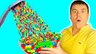 Pretend play Hand Shower M&MS