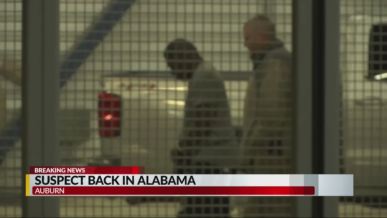 Suspect in Aniah Blanchard kidnapping extradited to Auburn ...