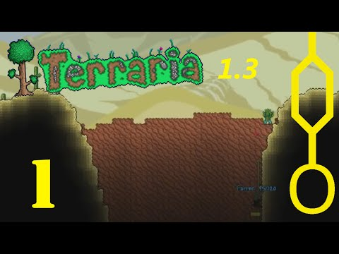 Terraria 1.3 [Expert Mode Coop] #01: I WANT OFF MR BONES WILD RIDE