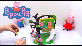 Peppa Pig Treehouse Playset Toy Review!