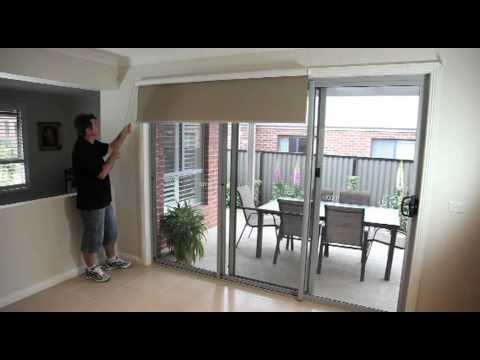 Curtains For The Kitchen Farmhouse Sink How To Install Roller Blinds - Youtube