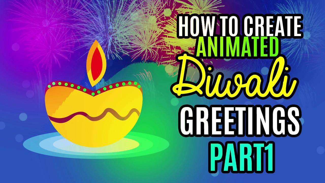 Diwali Greeting 2016 Ecard Gif Animation Photoshop Gif Animation