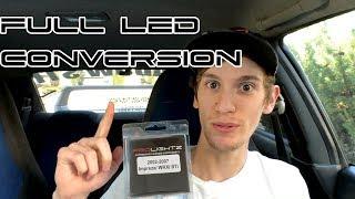 02-07 Subaru Impreza ProLightz Full LED Interior Lighting Kit | LED 360 Turn Signals