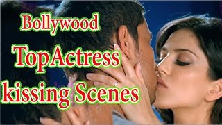 Bollywood Top 7 Actress Hot kissing Scenes Collection | Bollywood Top Actresses