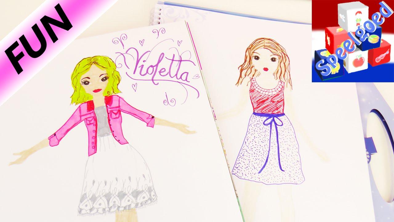 Violetta In Topmodel Boek Vormgeven Violetta S Nieuwe