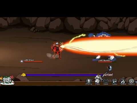 Ninja Saga Hunting House, VS Byakko