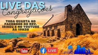 ???? Live Estudo Bíblico Congregações 18/11/2020