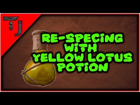Conan Exiles - Re-spec'ing With Yellow Lotus Potions