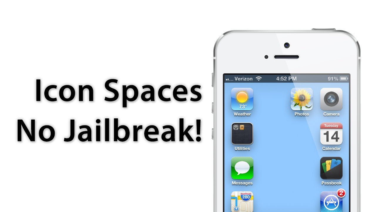 No Jailbreak Required: How To Add Spaces Between Apps On The Home Screen