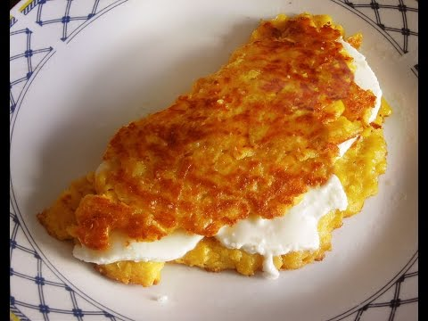 CACHAPAS - Venezuelan Corn Pancakes / traditional recipe for side dish