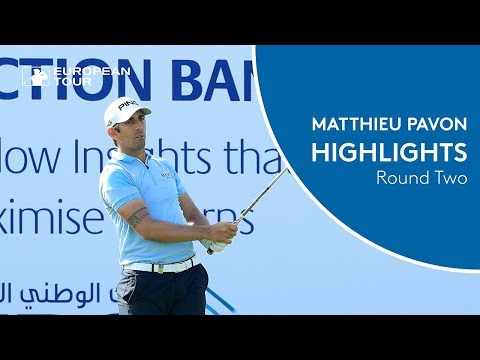 Matthieu Pavon shoots 65 to take the lead   Round 2 Highlights   2018 NBO Oman Open