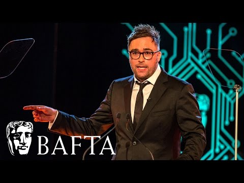 Danny Wallace opens the Games Awards  BAFTA Games Awards 2017