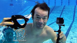 How to film underwater videos In the pool - How to film youtube videos underwater
