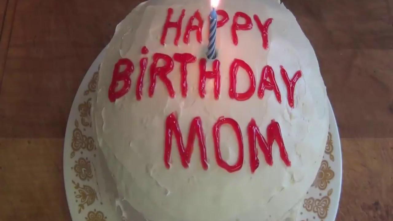 How To Make A Sugar Free Birthday Cake Youtube
