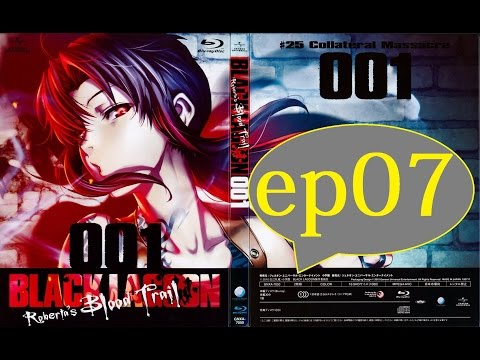 Black Lagoon Episode 7 English Dub