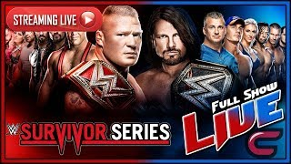 WWE Survivor Series 2017 Live Full Show November 19th 2017 Live Reactions