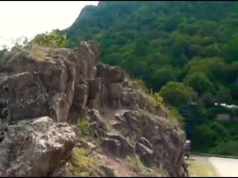 Tovuzun dağları gözəl  mənzərələr  saz  ifası😊