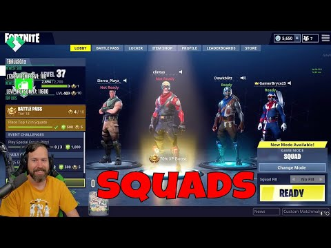 Squads with the Kids // Fortnite Battle Royale Gameplay