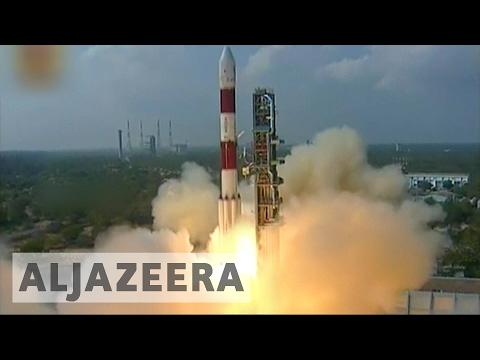 India launches record 104 satellites into orbit