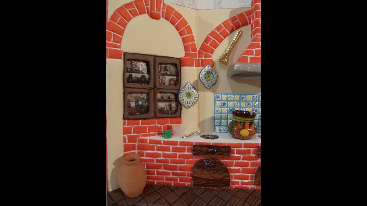 Diy c mo pintar una cocina de cer mica con adornos tipo for Ceramica para cocina fotos