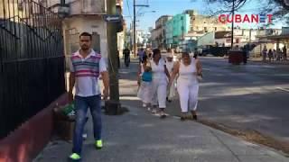 Mujeres activistas cubanas y líder político arrestados en La Habana, Cuba