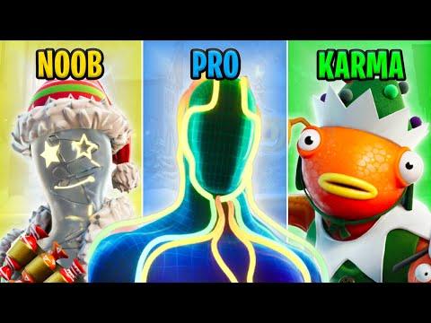 NOOB vs PRO vs KARMA - Fortnite Funny Moments #47