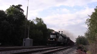 NS V86 in Hi Def at Shenandoah Junction,WV on 9/19/14