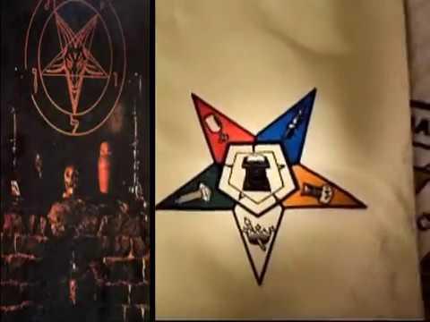 Inside A Church Pt2 Satanic Eastern Starbaphomet Symbol Youtube