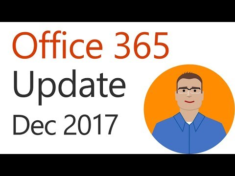 Office 365 Update for December 2017