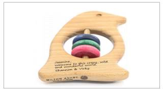 Wooden Toy Rattles For 0-1 Year Babies