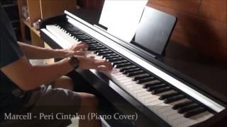 Video Marcell - Peri Cintaku (Piano Cover) download MP3, 3GP, MP4, WEBM, AVI, FLV Oktober 2017