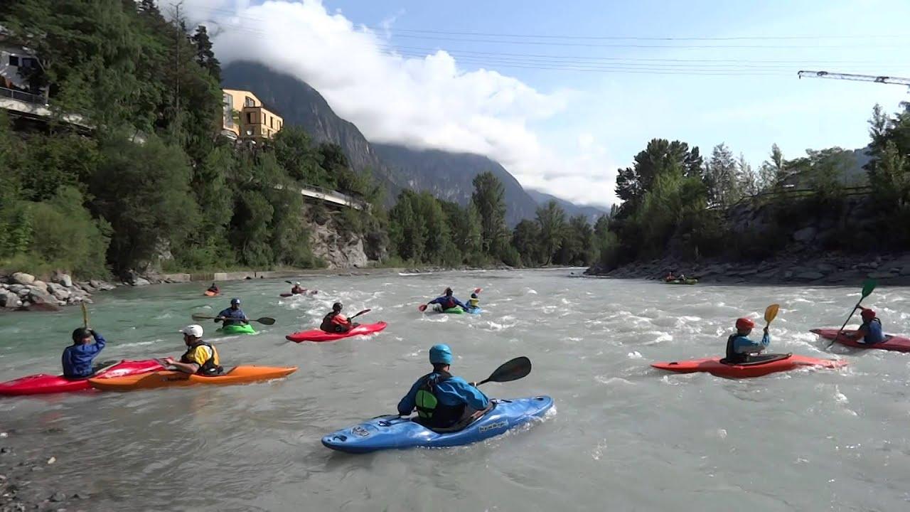 kayak autriche - YouTube