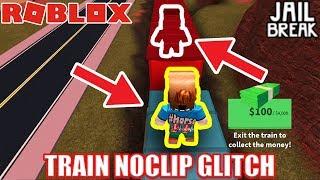*NEW* NOCLIP INSIDE the TRAIN Glitch! | Roblox Jailbreak