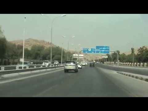 Drive to Muscat Grand Mall: 16/07/14