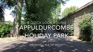 Camping and Caravanning - Isle of Wight - Appuldurcombe Holiday Park.