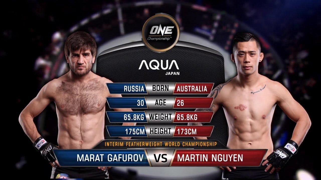 Marat Gafurov vs. Martin Nguyen | Full Fight Replay