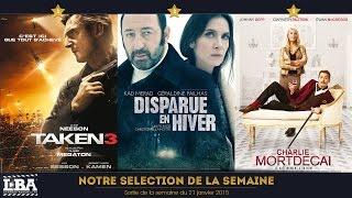 SOW#7 mercredi 21 janvier 2015 - Top3 des sorties cinéma de la semaine :