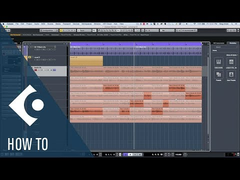 How to Create a Composite or Comp Take in Cubase | Q&A with Greg Ondo