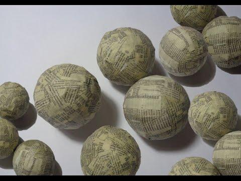 Como hacer tus propias esferas para el rbol de navidad - Como hacer bolas para el arbol de navidad ...