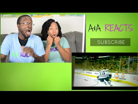 NHL Biggest Hits! REACTION || SPORTS REACTIONS