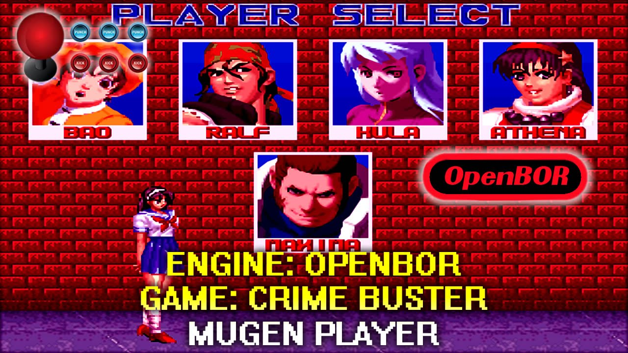 THE KING OF FIGHTERS CRIME BUSTER OPENBOR by MUGEN PLAYER